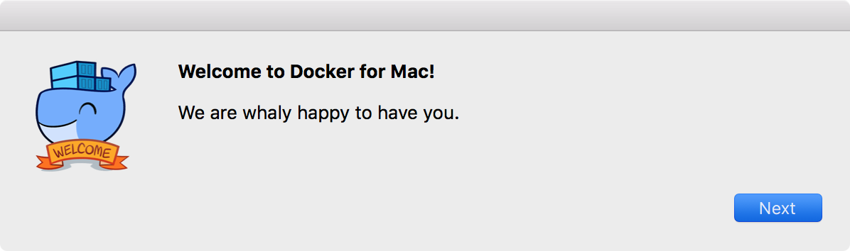 Docker for Mac